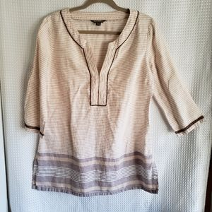 Final SALE❣Donating Tommy Bahama Linen top S
